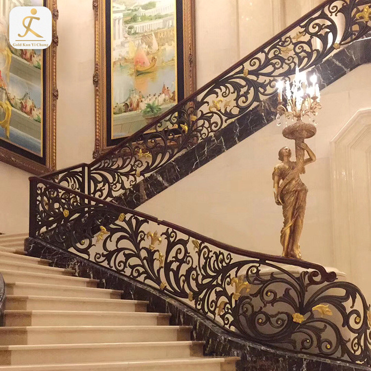 metal stair handrail balusters for sale carved stair railing brown stainless steel pipe stair handrail design for stairs