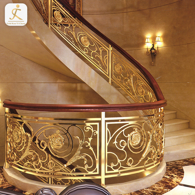 curved stainless balustrade stainless steel tubular handrail rust proof metal stainless steel balcony railing