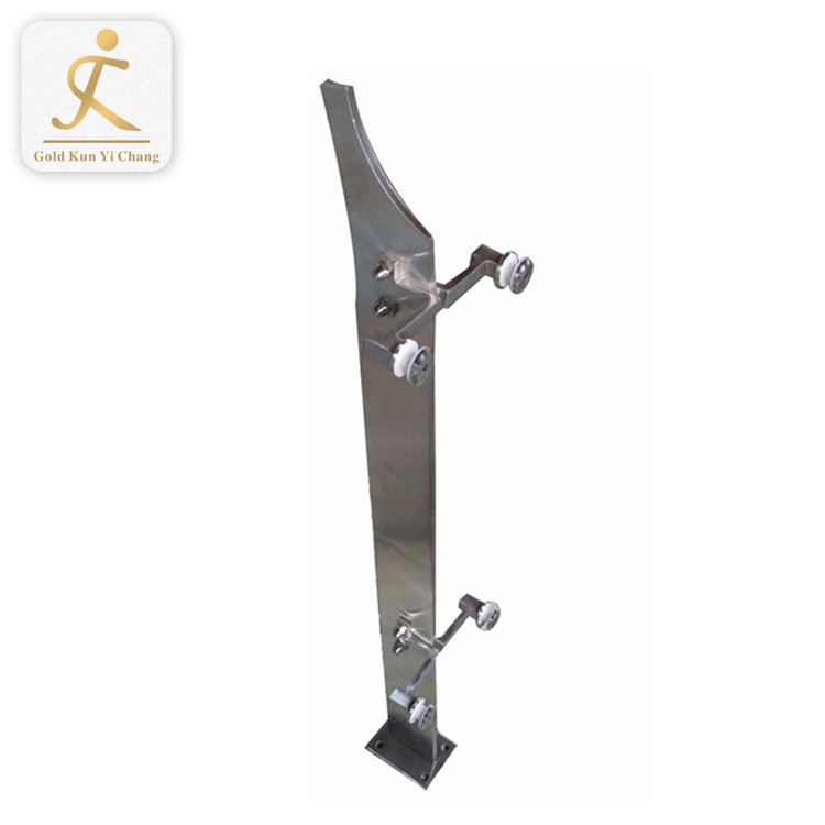 different type stainless steel stair porch railing and posts powder coated modern loft decorative black railing posts