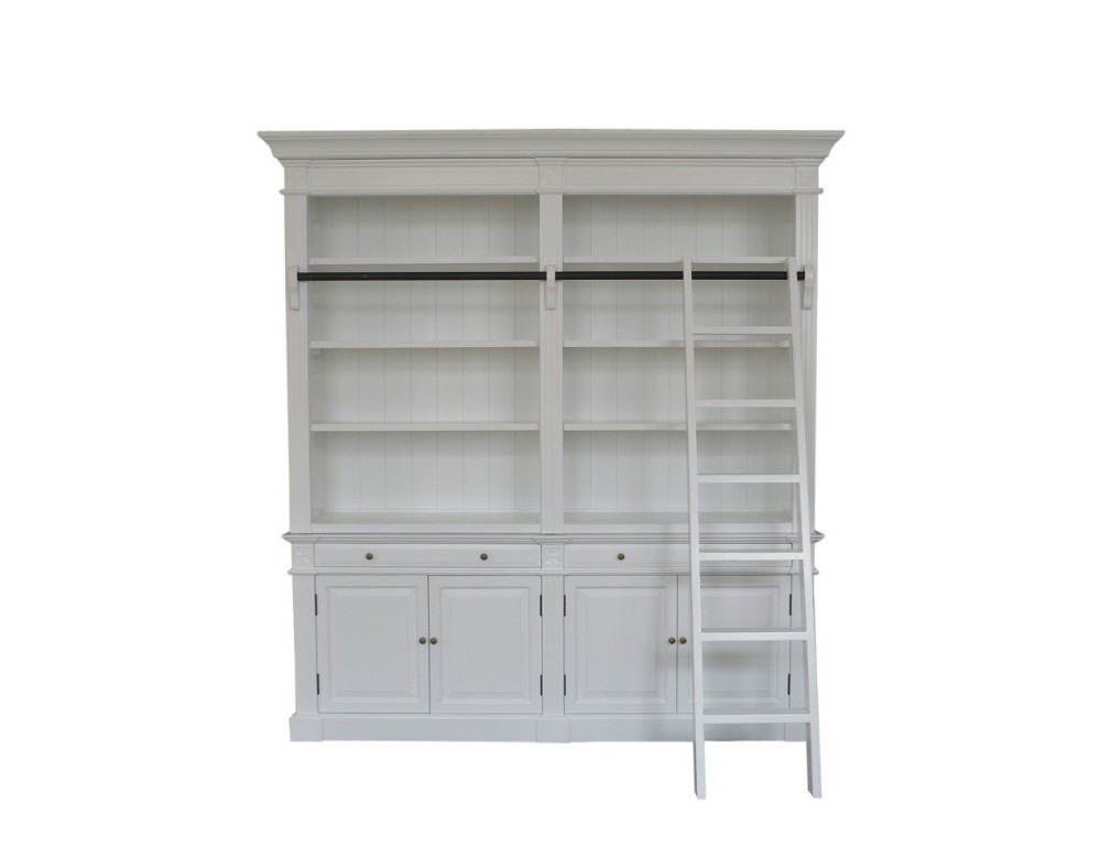 Antique French-style Oak Bookcase W5811S