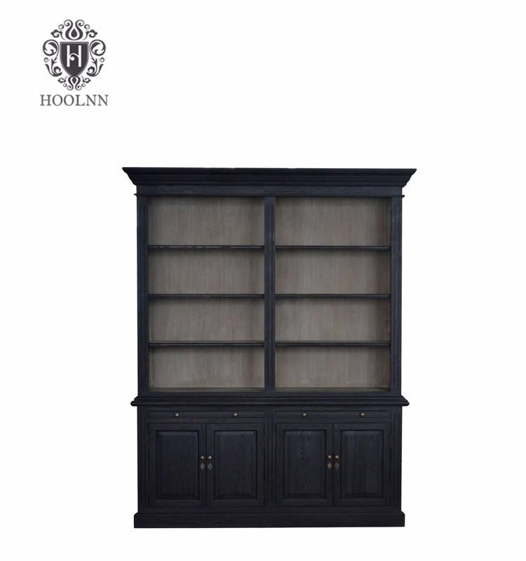 Classic Antique Solid Wood Bookcase P1804-C-107