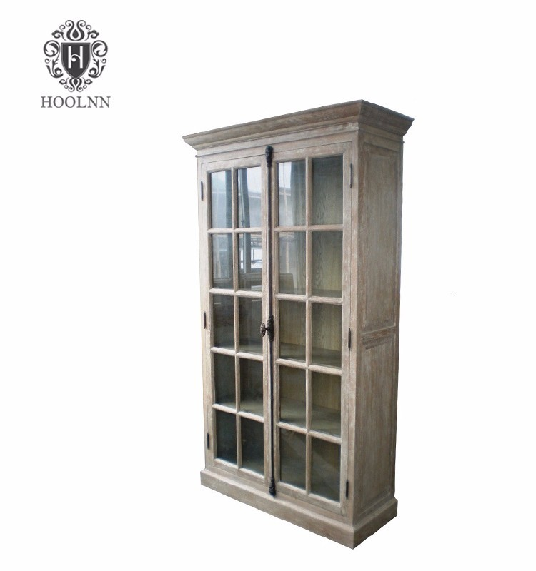 French Wooden Glazed Cabinet W5819S