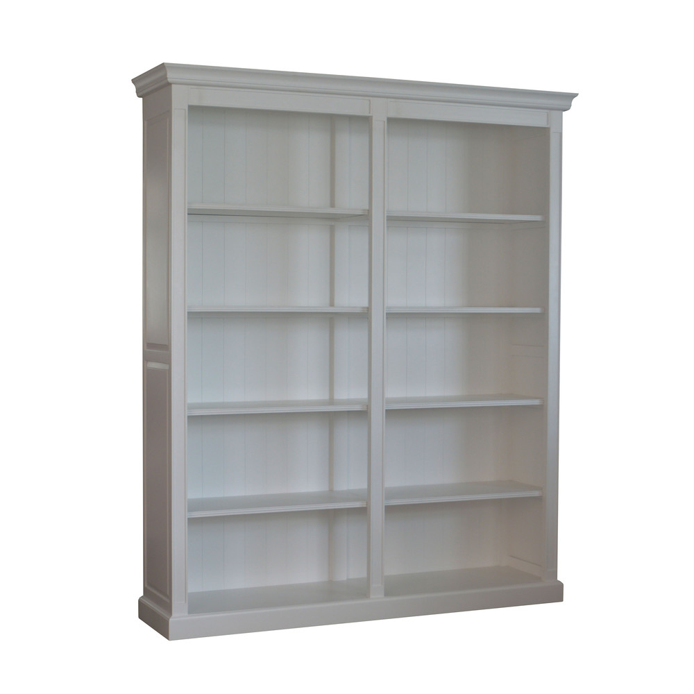 French Provincial Style Solid Wood Bookcase W5908