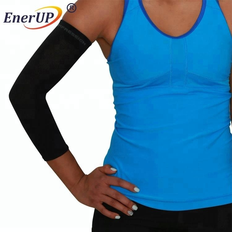 Knitted Compression Seamless Arm Sleeves Elbow Sleeves