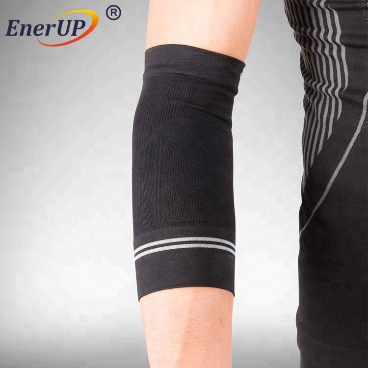 New products private label compression sleeve custom sublimation basketball arm elbow sleeves