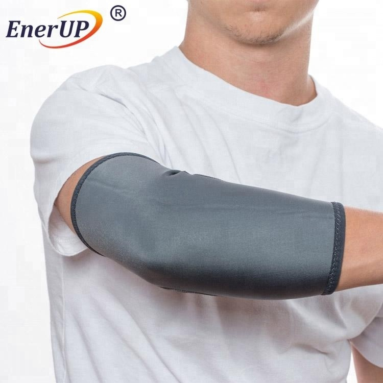 Newest Elastic copper protective compression arm sleeve elbow sleeve