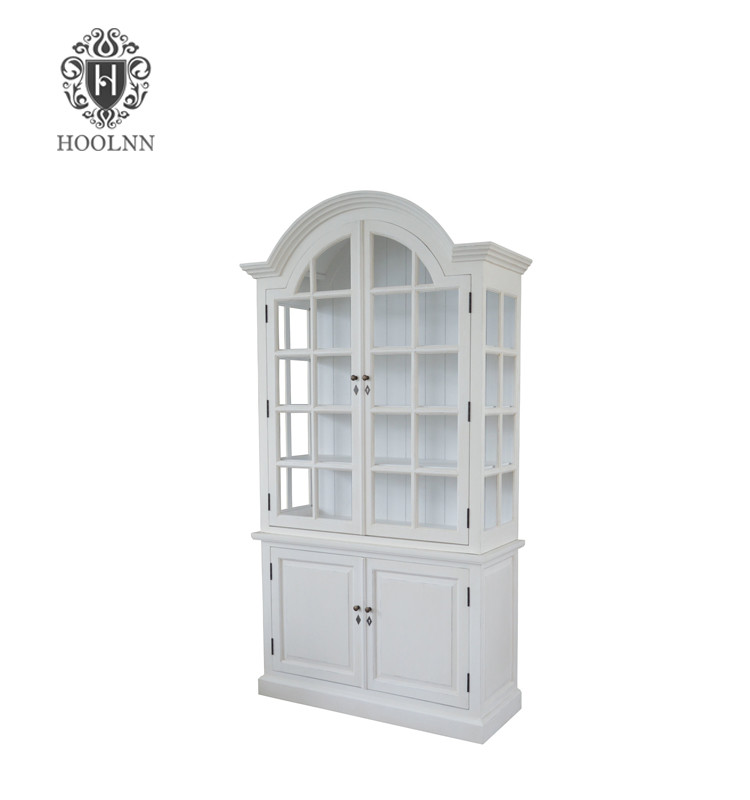 Glazed Wooden Cabinet HL904