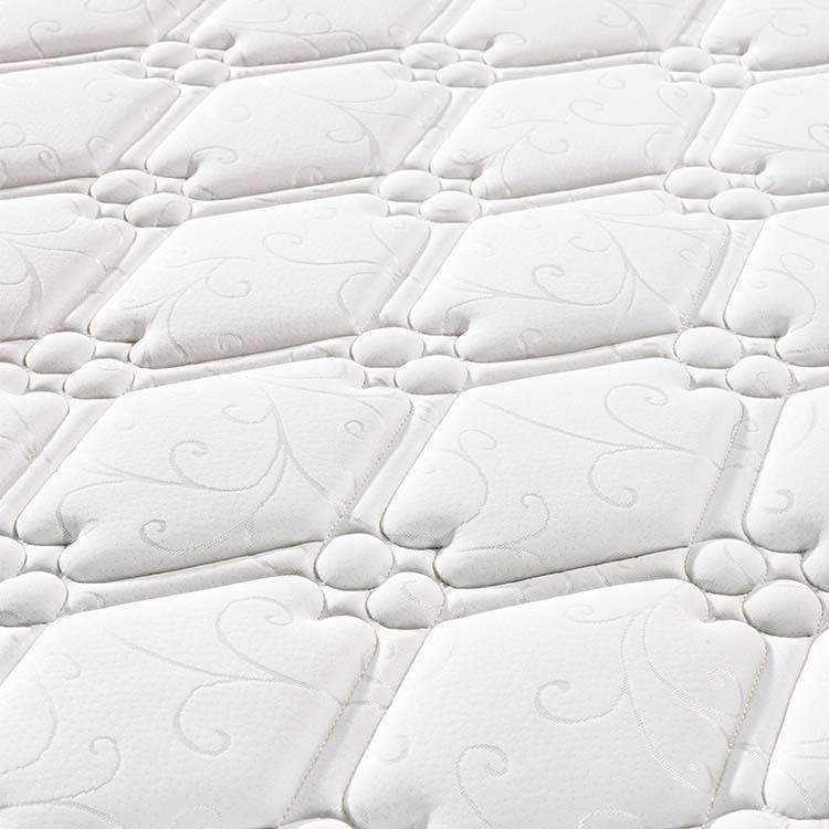 22cm super king size Pillow top roll up spring mattress