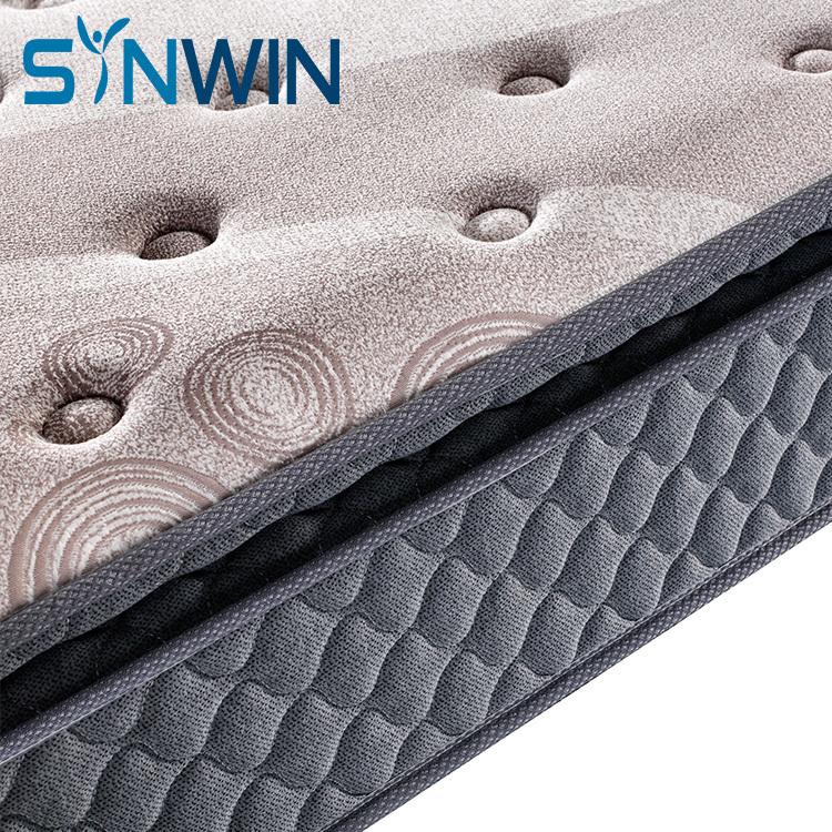 27cm pillow top memory foam bonell spring roll up mattress manufacturer customized size mattress