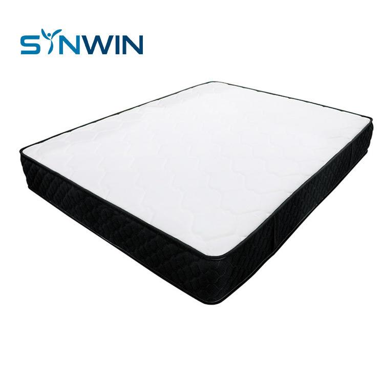 24cm soft feeling best rolled up pocket spring mattress