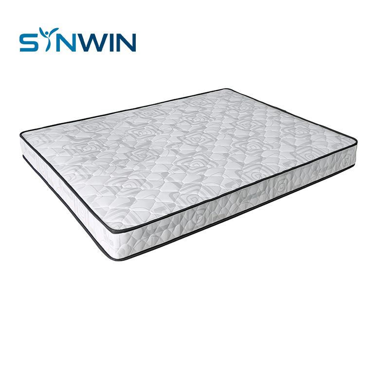 18cm rolled mattress factory cheap bonnell spring roll up king size mattress bed