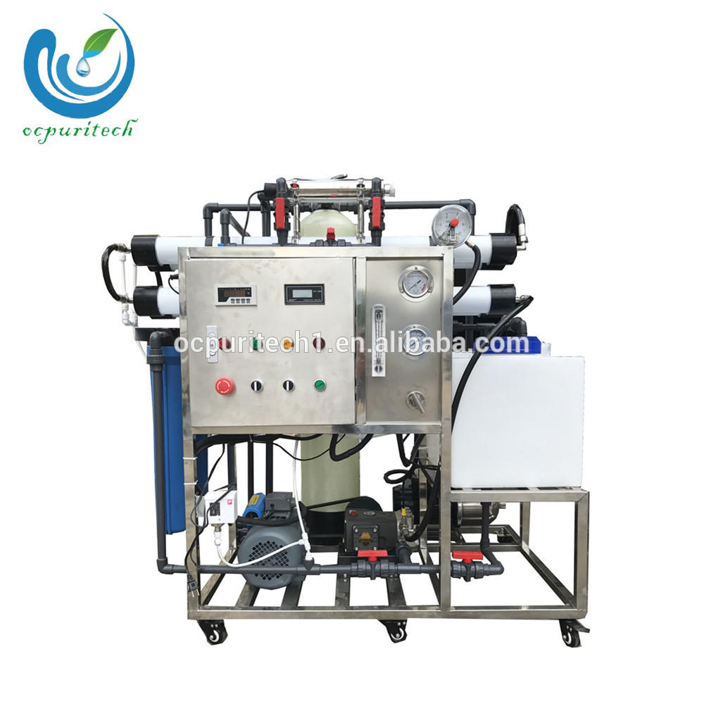 hot sale mobile water desalination plant for ship