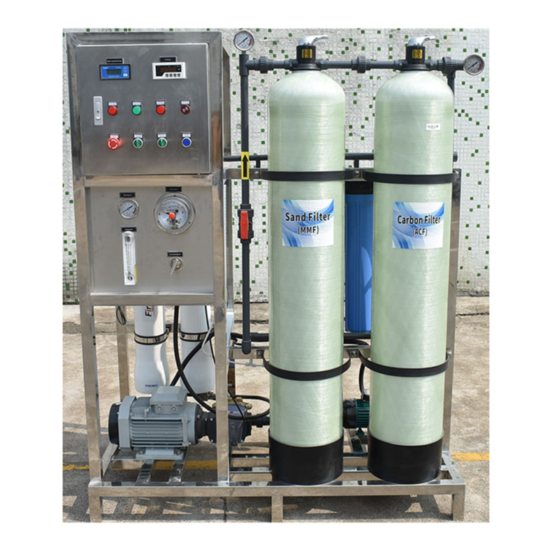 250lph Portable device plant ro equipment filter machine seawater desalination