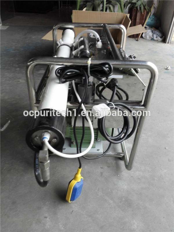 Mini Seawater Desalination Plant Mobile 1000LPD Water Treatment