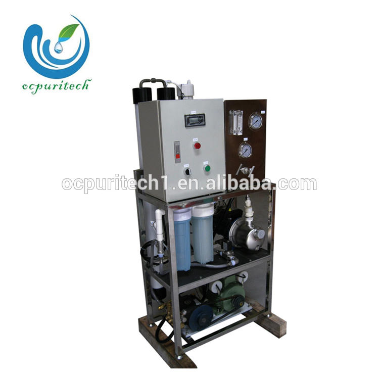 small water desalination plants for seawater