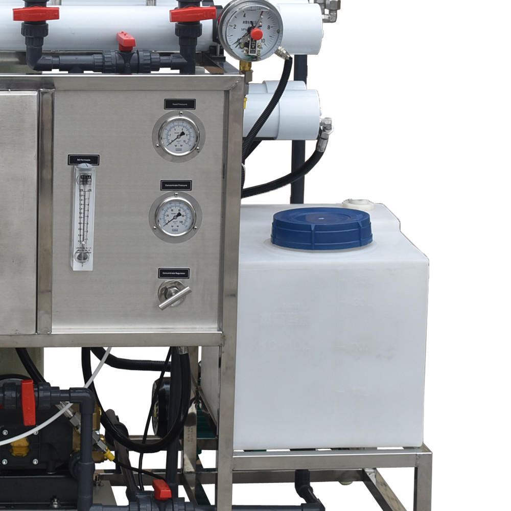 200lphDesalinator Brackish Seawater Sea Water Desalination Machine Ro Reverse Osmosis Industrial Marine Systems For Boats