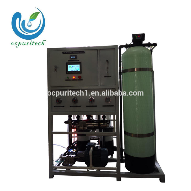 10000LPD RO seawater desalination plant for ship boat