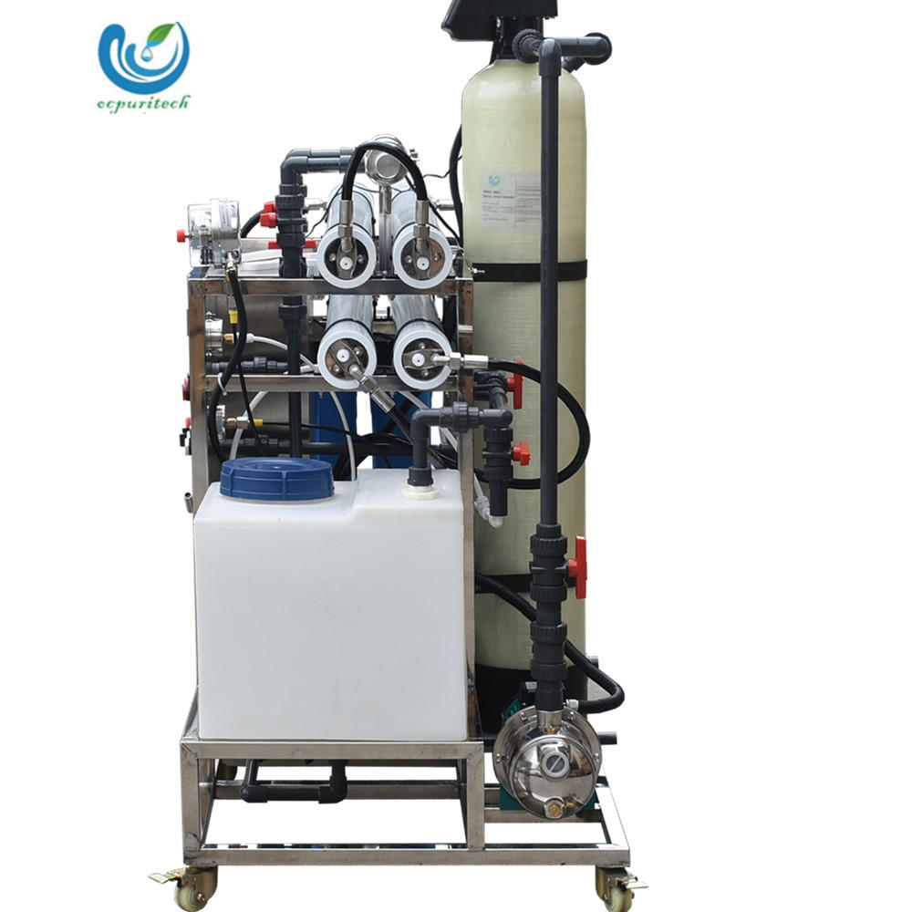 5TPD Small capacity marine seawater desalination equipment for sea salt water treatment equipment