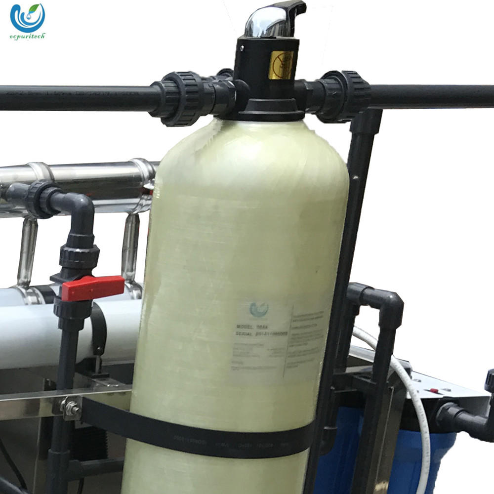 Sea Water Treatment Plant 100T/H Remove Salt Desalination RO System For Drinking And Irrigation