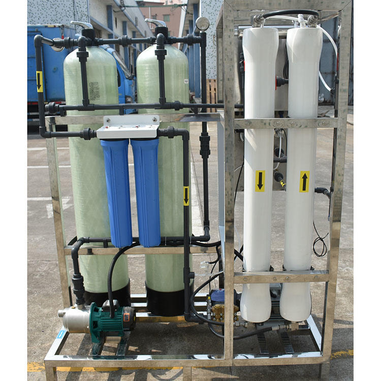 250 lph reverse osmosis water purificationdesalination plant