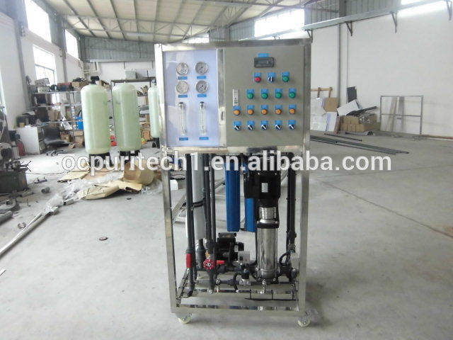 Small mobile ro seawater desalination plant