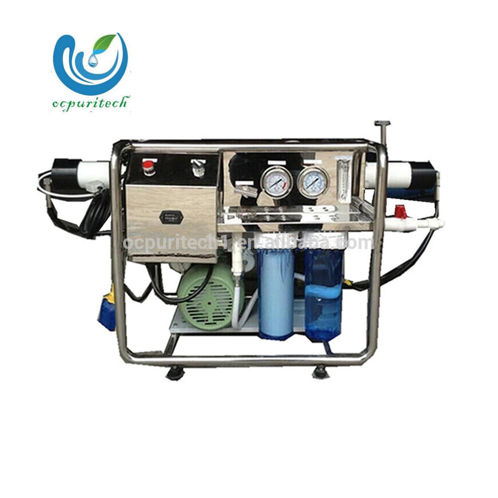 Mini Seawater Desalination Plant Mobile 1000LPD Water Treatment