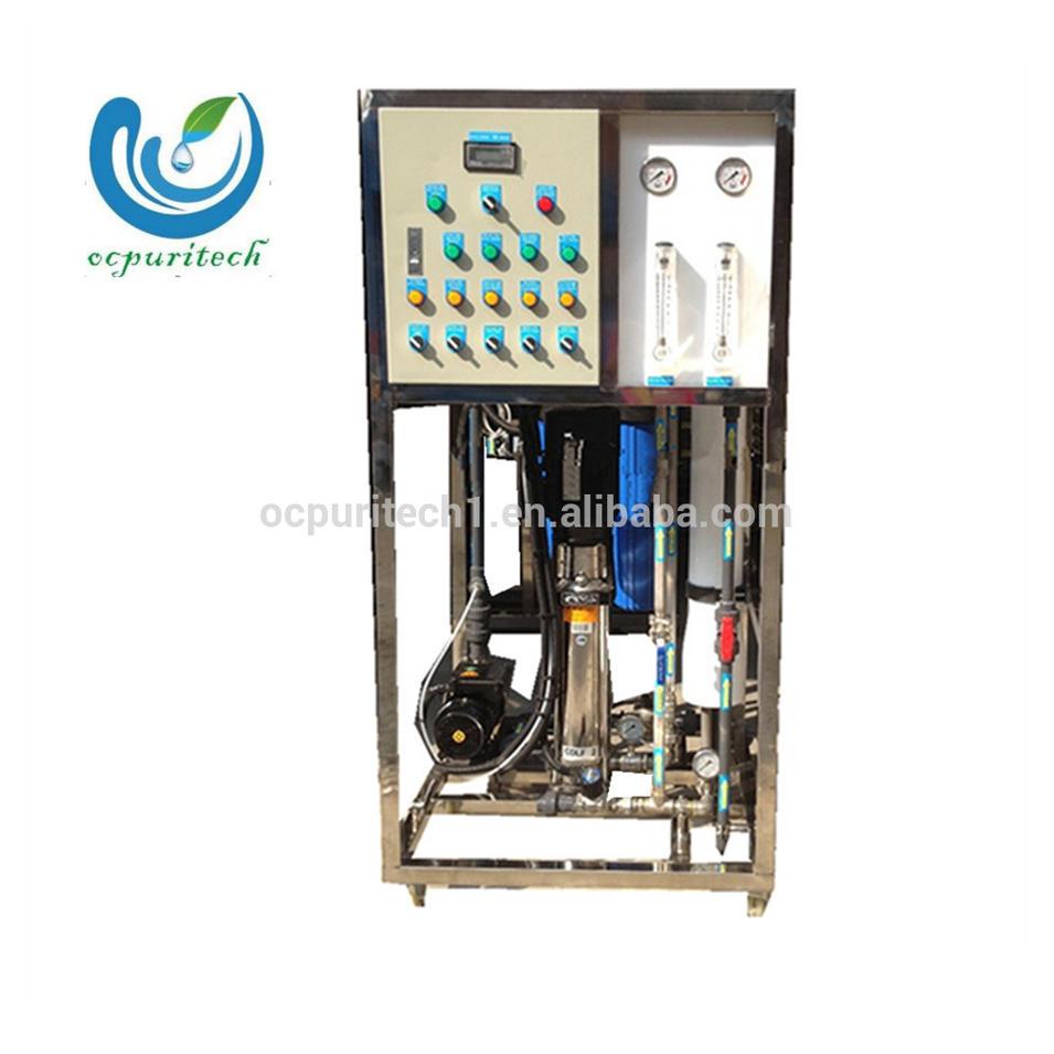 Sea water desalination systems water filter machine