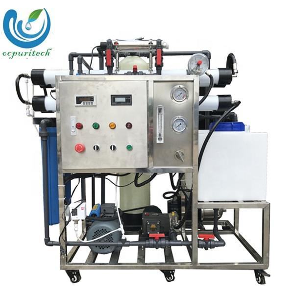 200lph mini Sea Water Desalination Machine Desalinator Brackish Seawater RO