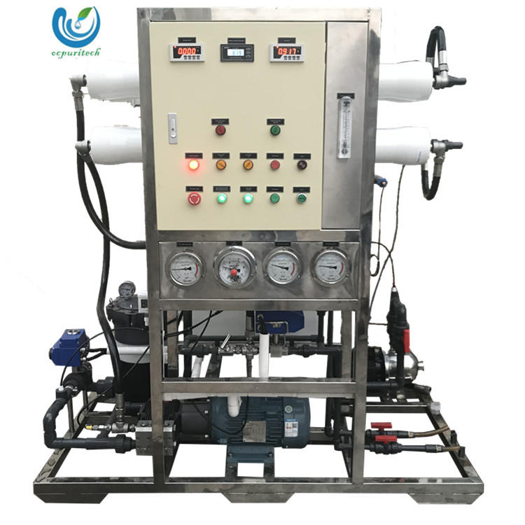 15TPD Hot sale sea water desalination machine with price used water desalination plant