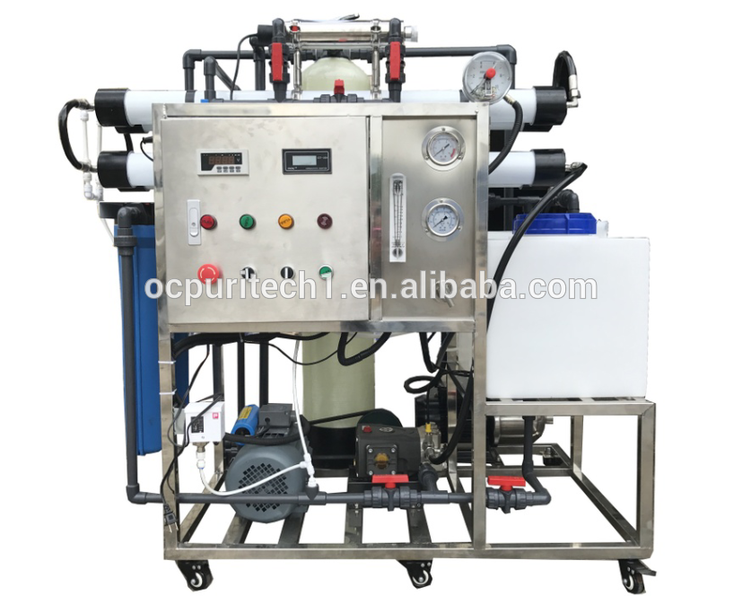 mobile ro seawater desalination plant for ship
