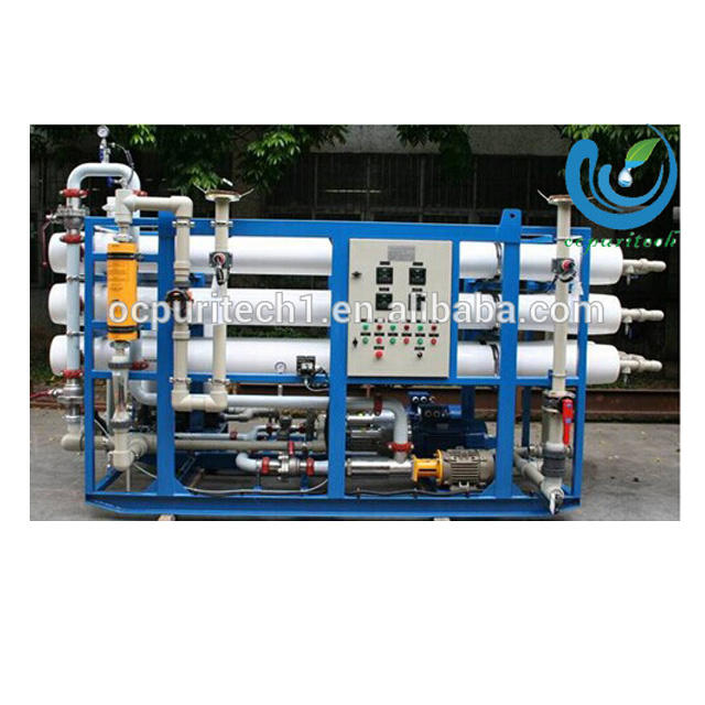 RO water treatment seawater desalination plant