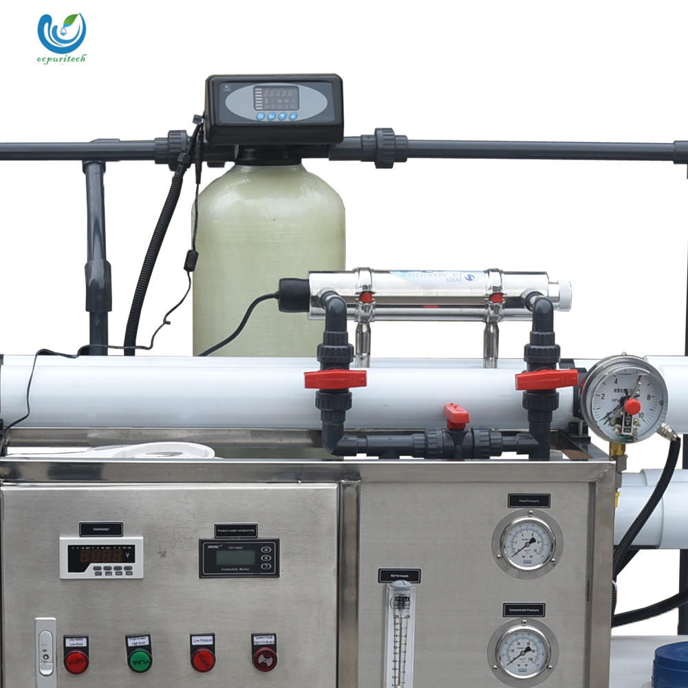 Small capacity seawater desalination ultrafilter equipment for salt water treatment plant/device/machine