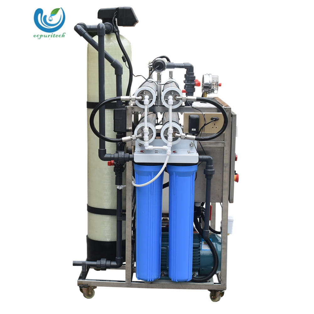 5TPD Reliable high salinity RO desalination system with pre-treatment for seawater desalination system