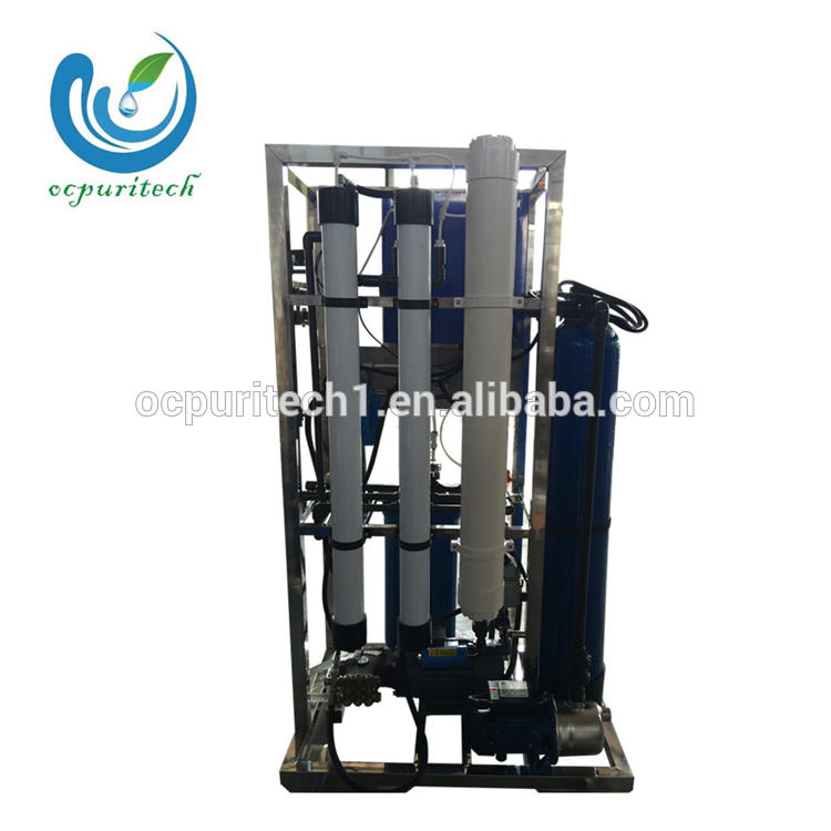 2TPD reverse osmosis seawater desalination plant for ship