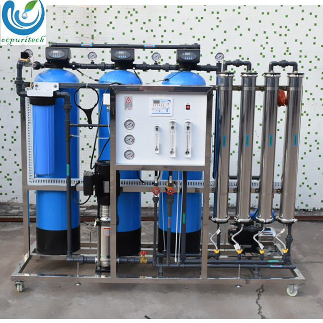1000LPH Mobile Compact RO System Water Treatment Plant