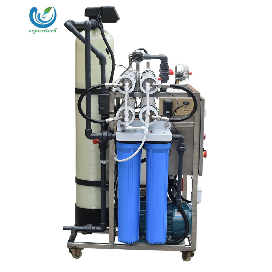 5TPD High quality RO automatic seawater desalination machine treatment plant for seawater treatment equipment water purifier