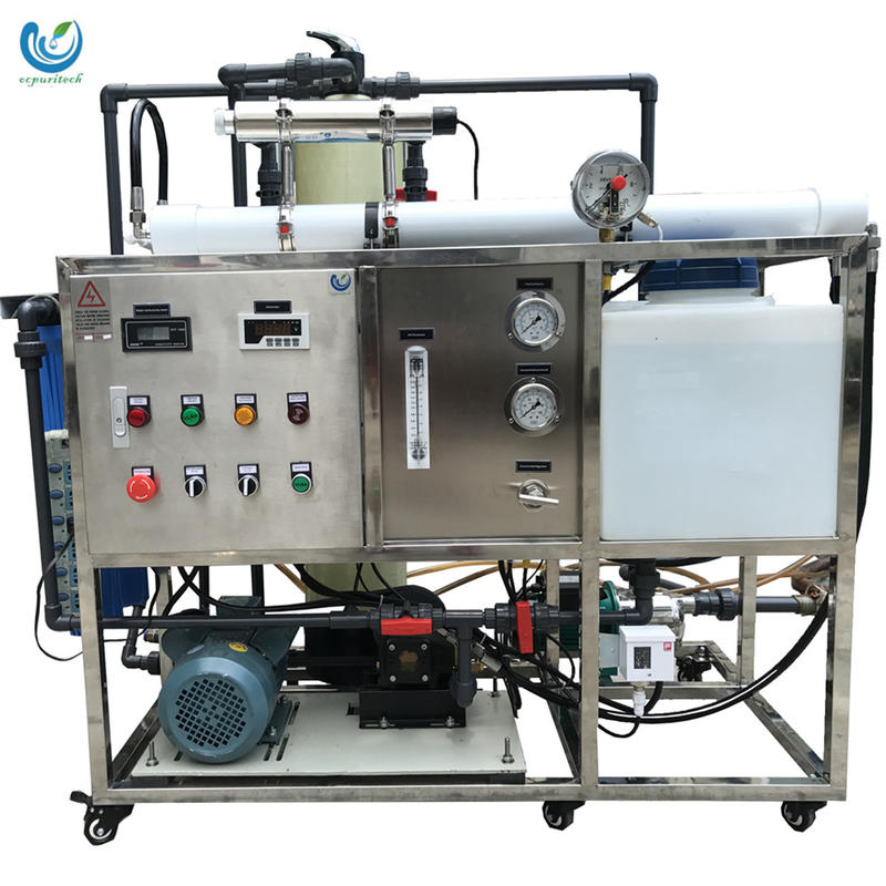 Sea water treatment machine100LPH salt removal from water water ro system