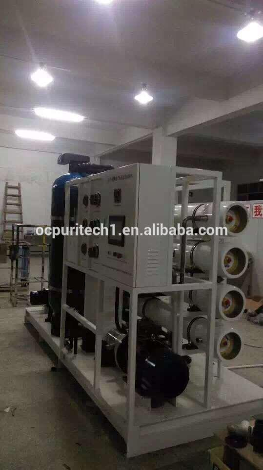 40M3/D Marine/ Boat used Reverse osmosis(RO) Seawater Desalination Equipment