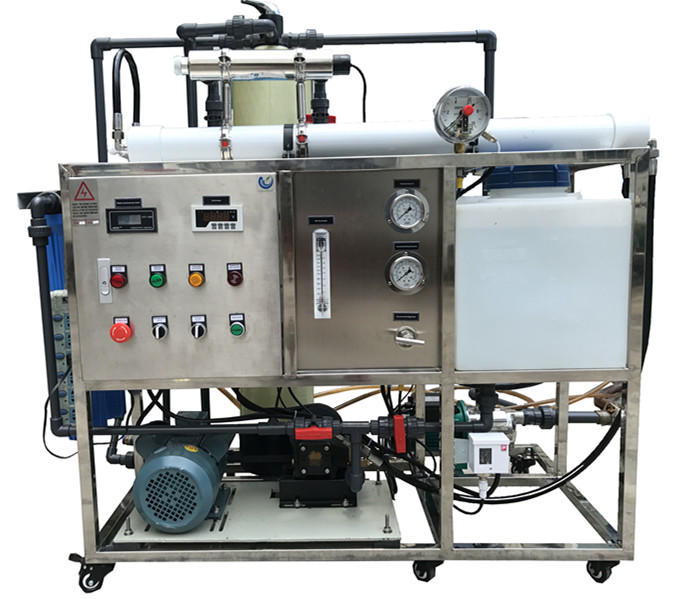 Industrial Reverse Osmosis Water System Ro 3tpd Desalination Plant Price