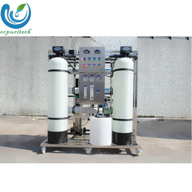mobile ro system with runxin softener valve