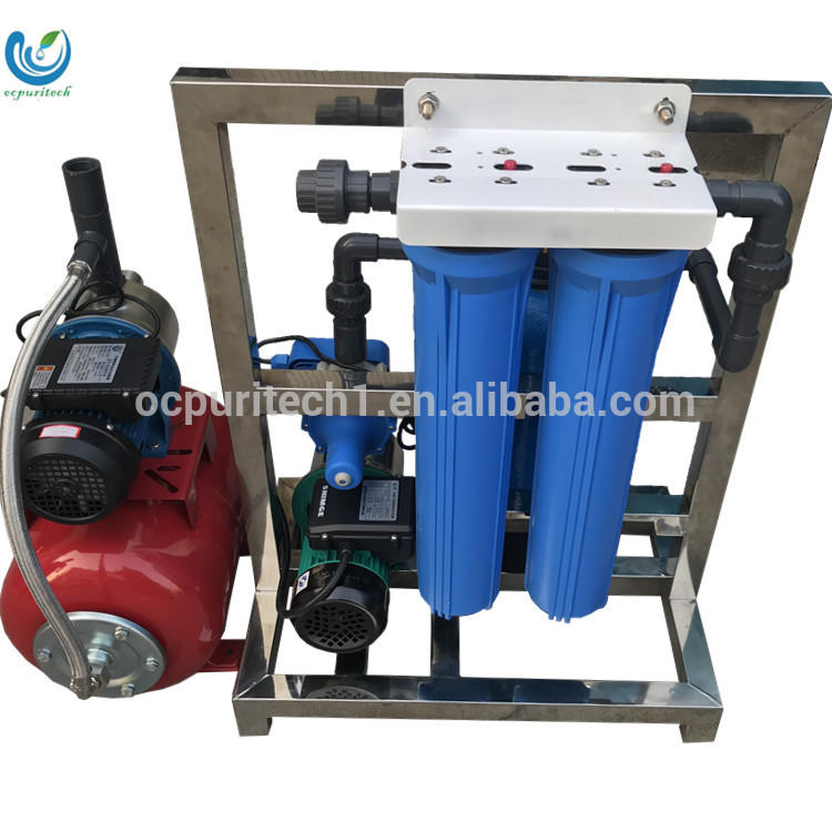 Portable small scale 200L/H sea water desalination RO system cheap prices made in China