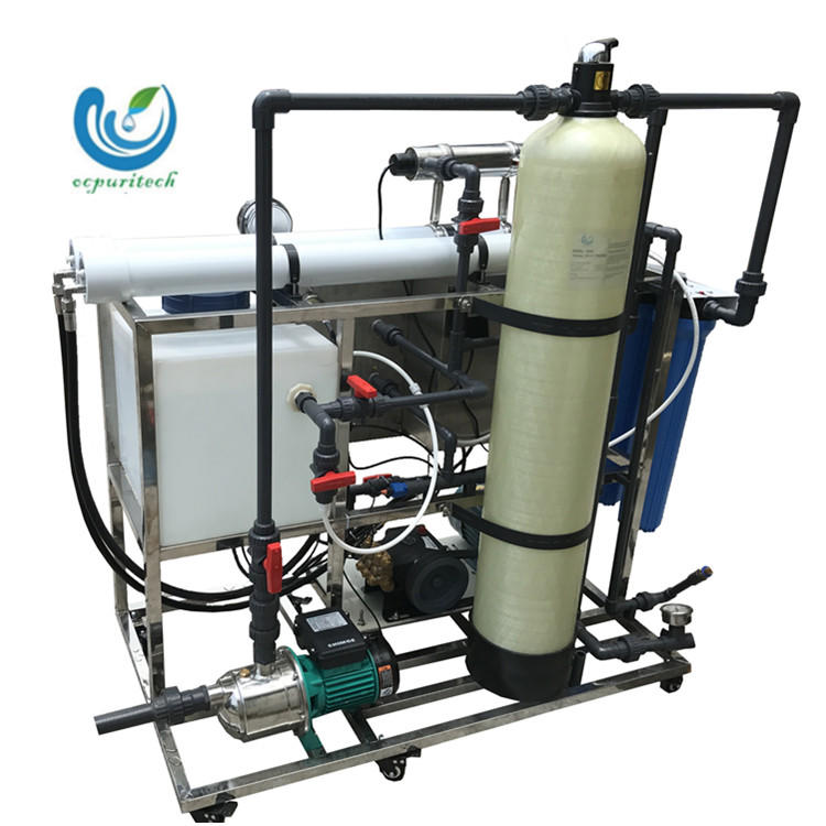 200LPH small mobile desalination plant ro seawater desalination plant for boat