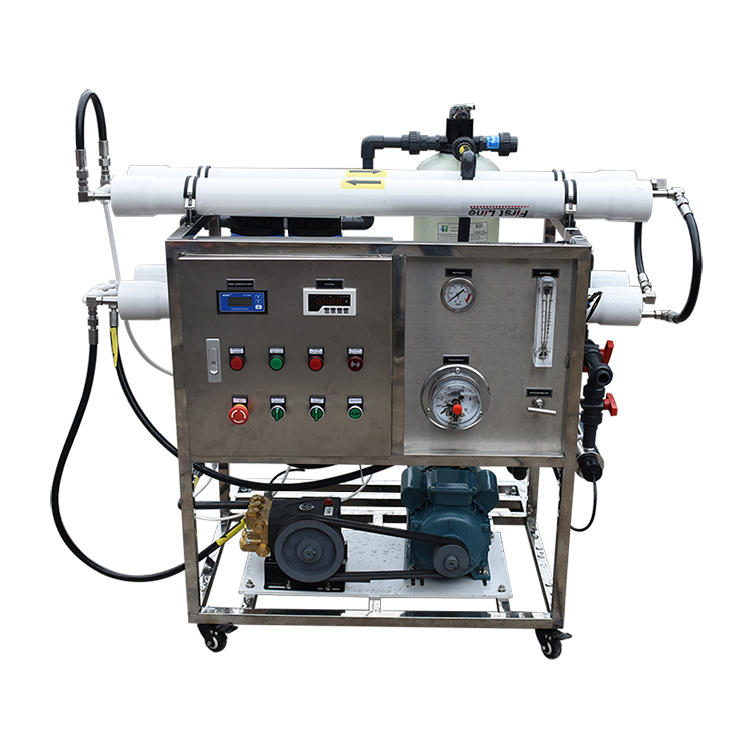 200LPH Sea Water Treatment Purification Portable Small Scale Seawater ro Systems Plants Unit Desalination Companies Boats Device