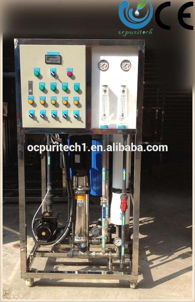 Sea water desalination systems water filter machine