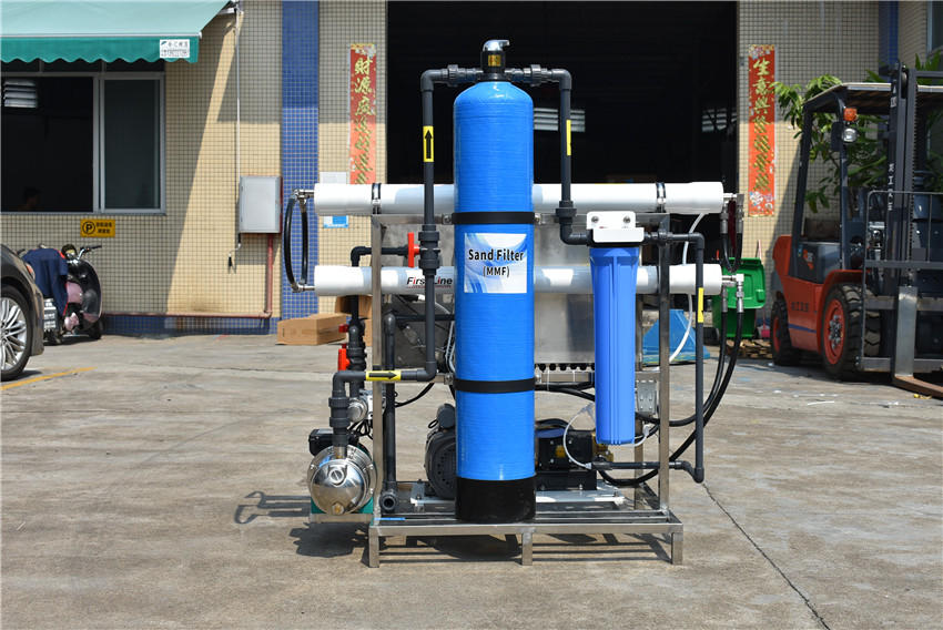 boat family industry used Sea water desalination plant