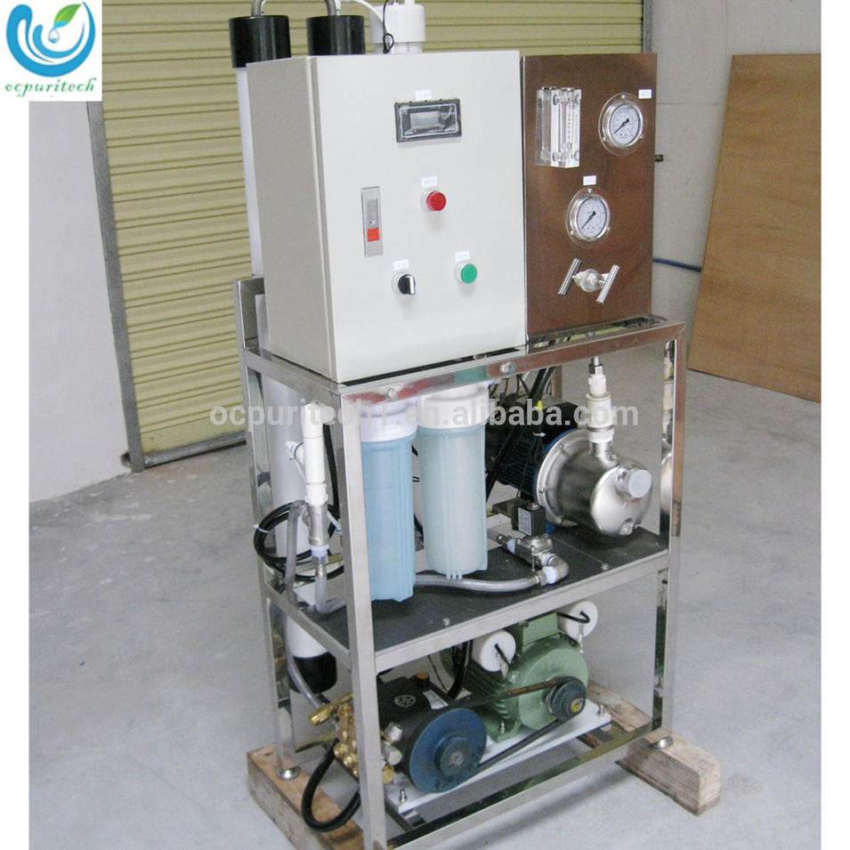 Mobile water purification equipment