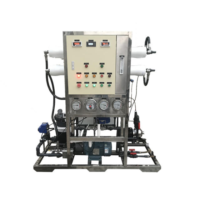 10TPD RO Seawater Desalination plant machine for boat best selling