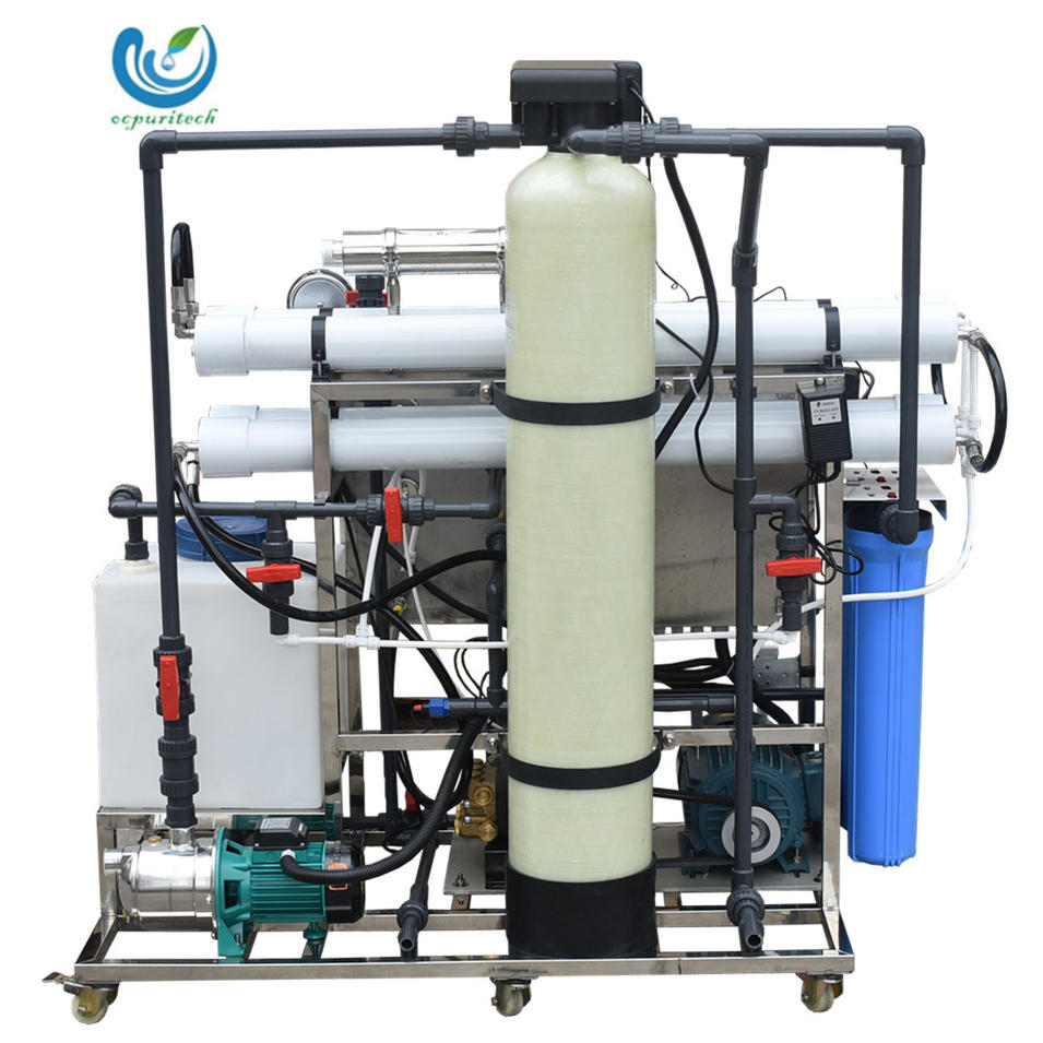 5TPD RO Seawater Desalination Plant for Paper Making Industry