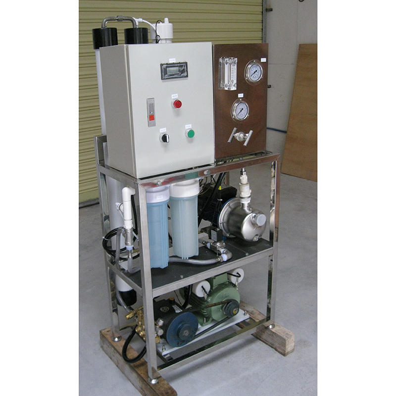Ro water filter system for seawater desalination system