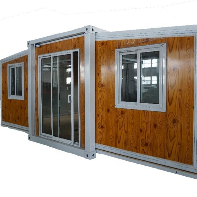 2 bedroom expandable container house